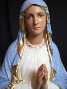 mother mary after