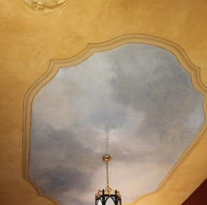 St Paul's sacristy ceiling mural